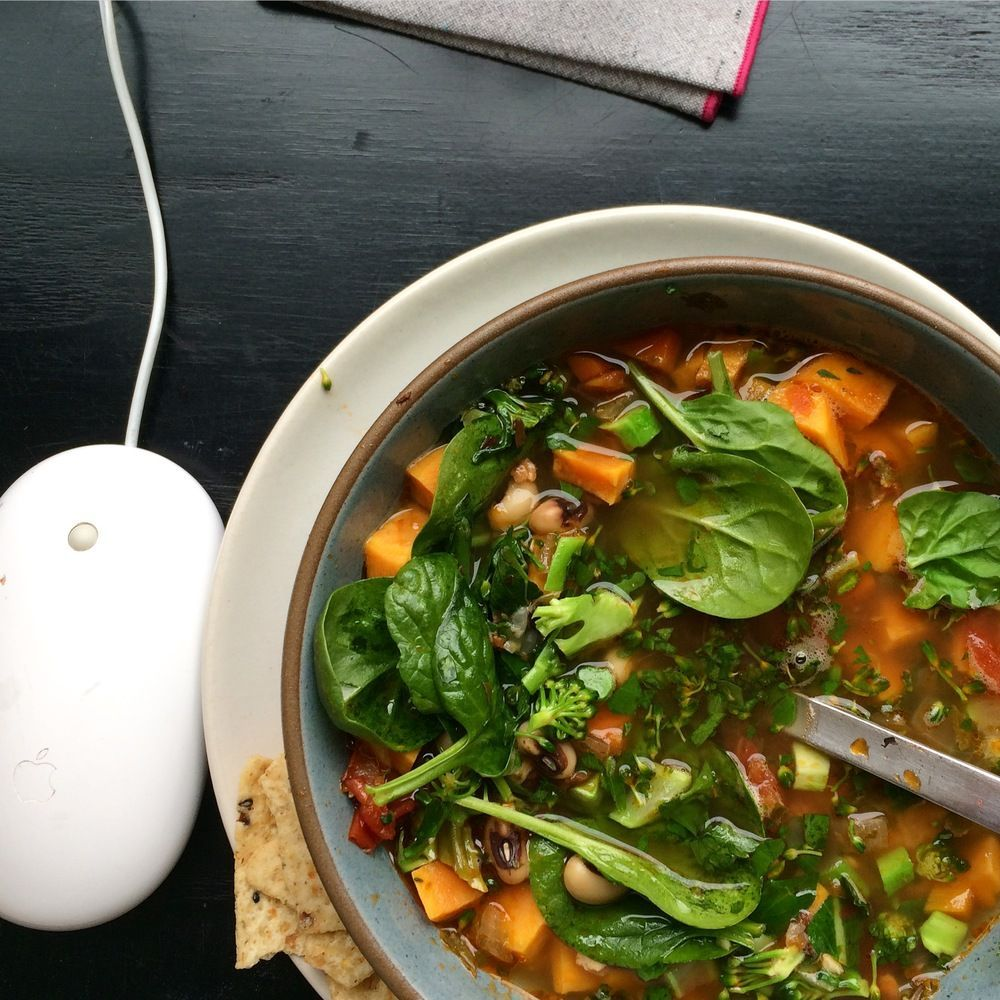 Winter Workout Chaser #3: Minestrone Soup — Athlete Food #athletefood Minestrone from Athlete Food #athletefood