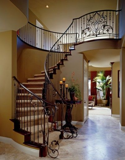 Image detail for -iron staircase designs are so beautiful they become the final ...