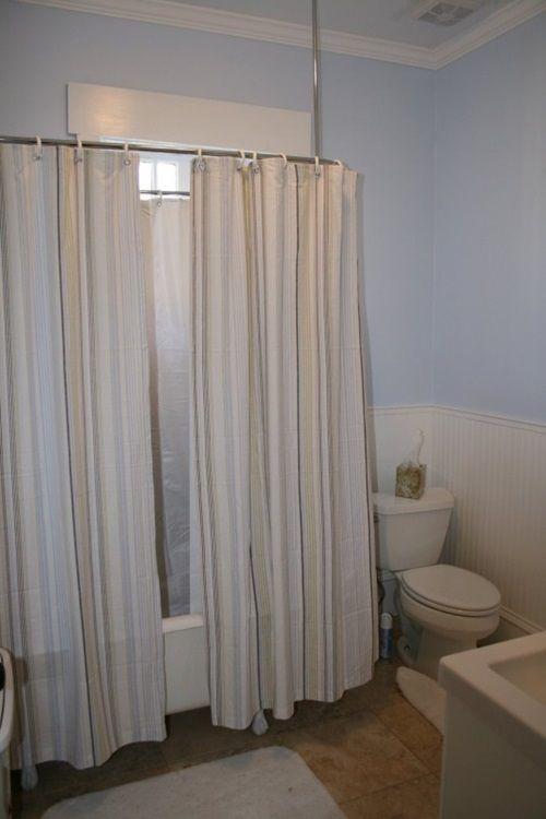 Cottage Bathroom Curtain Ideas Home Decor Home Curtains