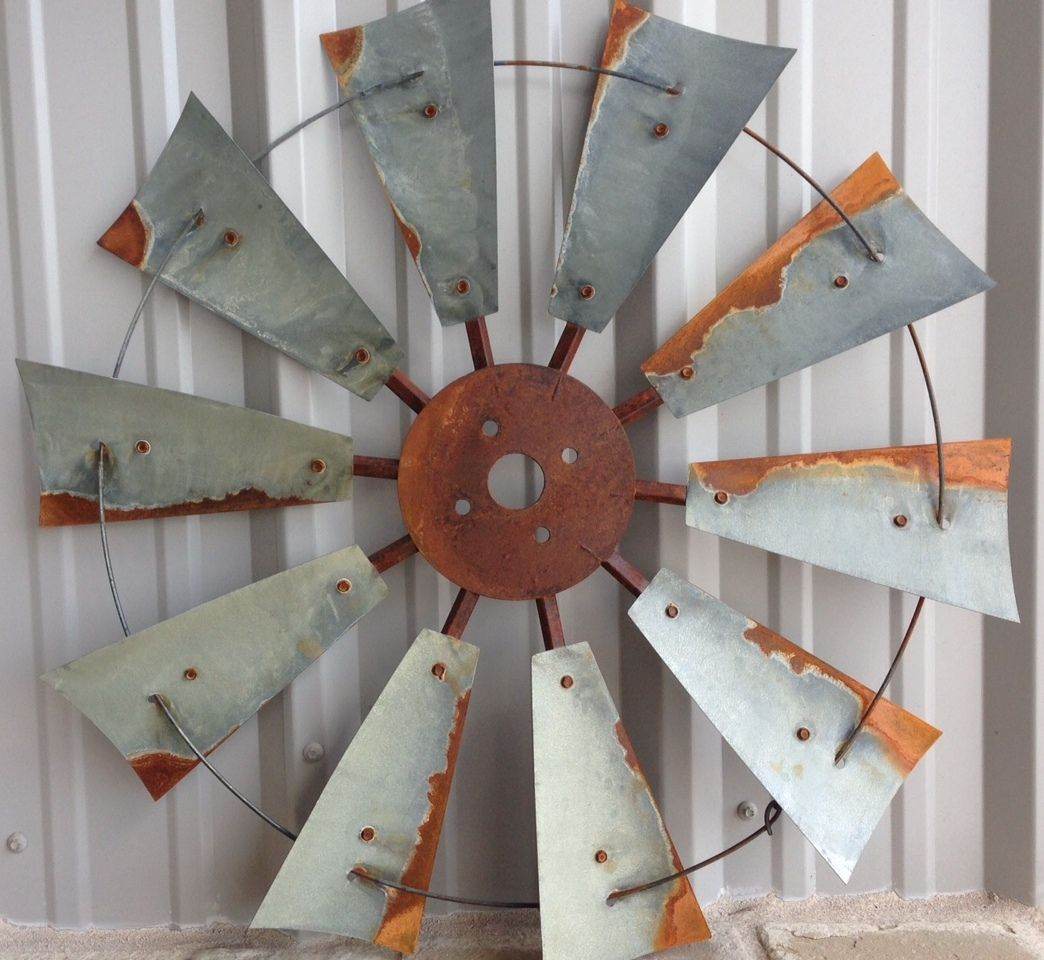 Windmill Wall Art windmill decor, rustic windmill heads, old windmill heads, old