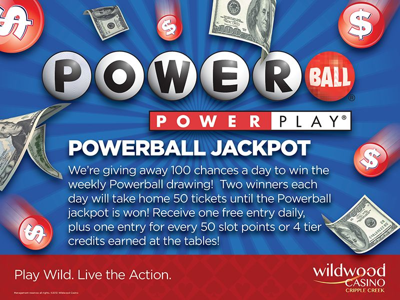 Take home 50 tickets for the Powerball drawing! We're giving