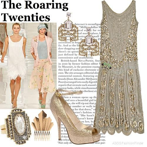 the roaring twenties womens outfit asos fashion