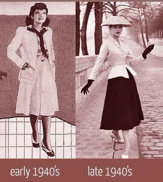 How Clothes Rationing Affected Fashion 97