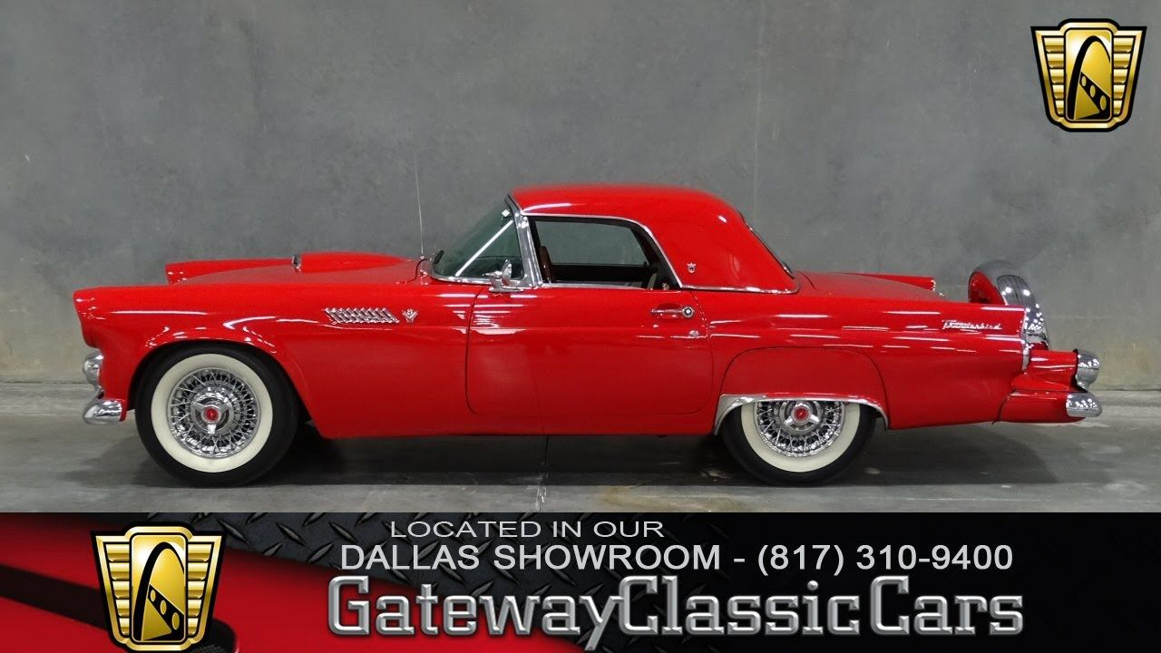 1955 Ford Thunderbird Stock #63 Gateway Classic Cars of Dallas ...