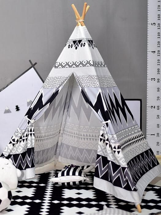 Black And White Teepee Tent images