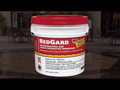 Redgard Speedcoat Rapid Curing Waterproofing Membrane For Faster