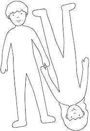 Resultado De Imagen Para Silueta Del Cuerpo Humano Para Colorear