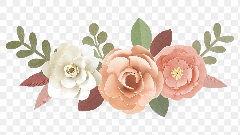 Download Premium Png Of Pastel Papercraft Flower Design Element 2401351 Design Element Flower Illustration Flower Designs