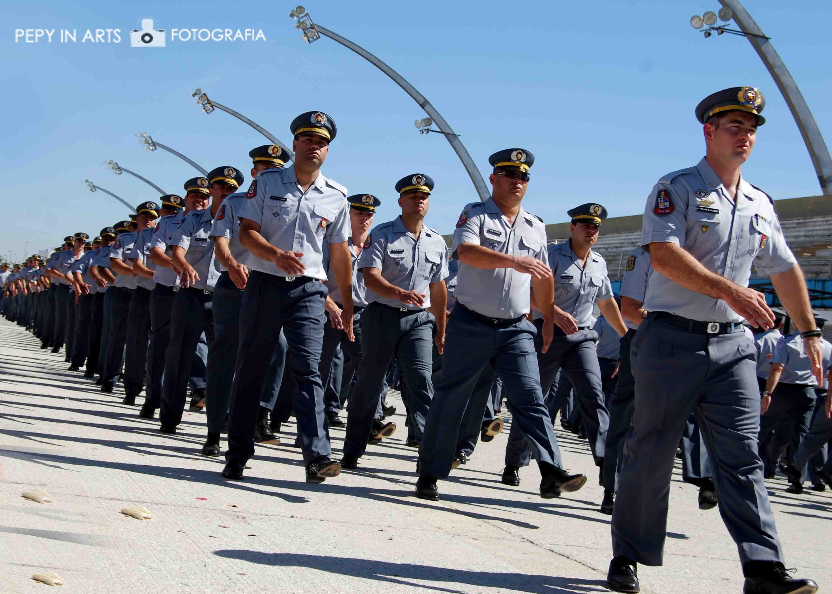 Formatura De Sargentos Da Policia Militar De Sao Paulo Anhembi