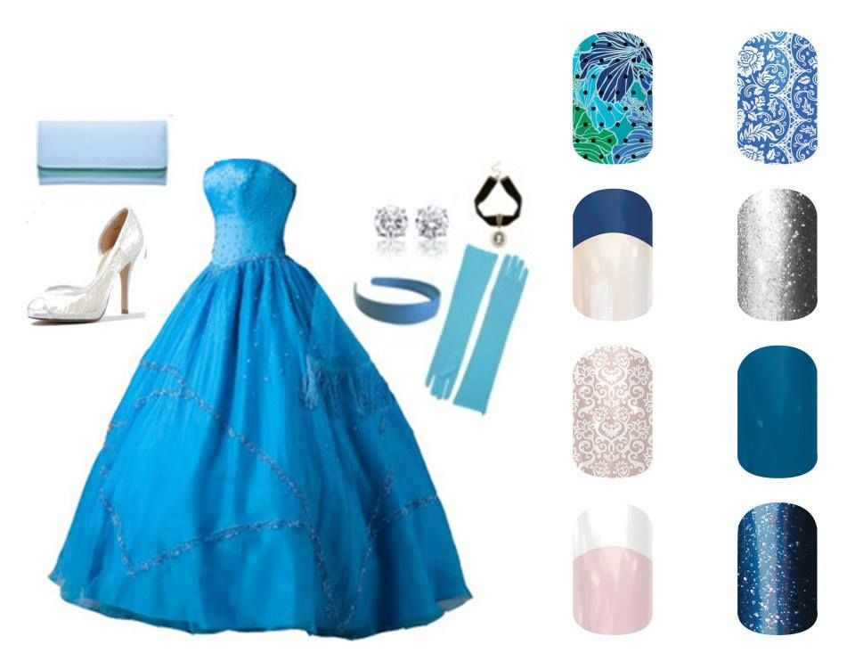 Disney inspired Cinderella and Jamberry. Shop Jamberry @ https://stephaniethornton.jamberrynails.net/