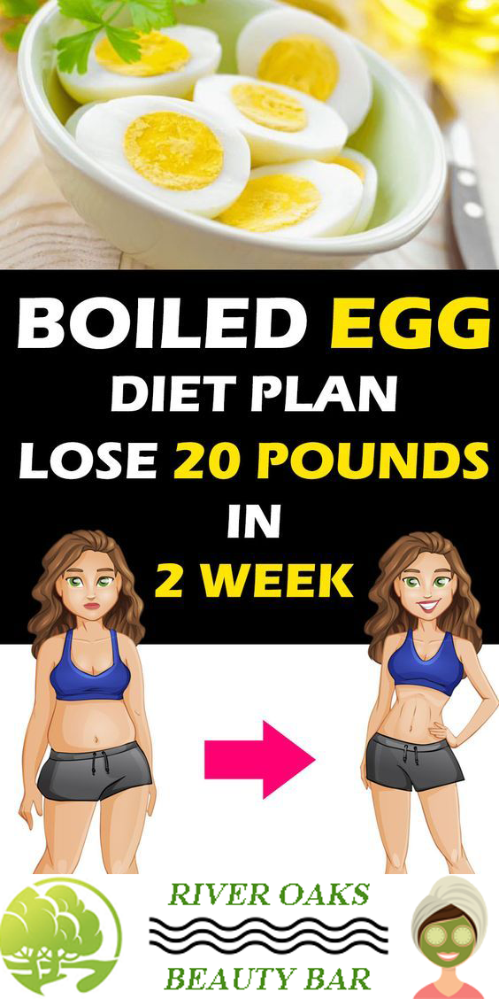 Boiled Egg Diet to Lose up to 20 Pounds in 2 Weeks