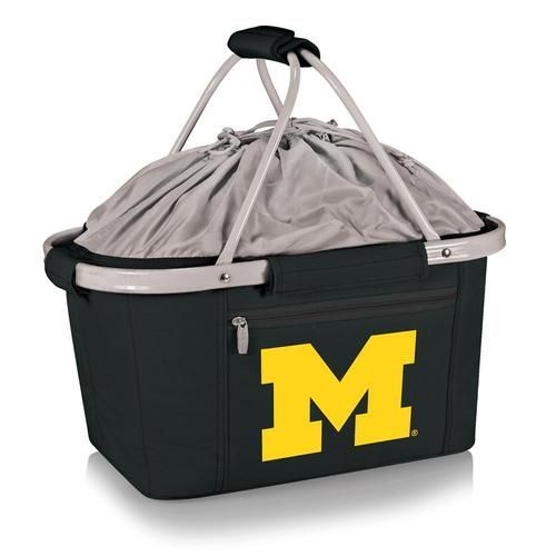 University of Michigan Wolverines Picnic Basket Tailgating Tote Bag