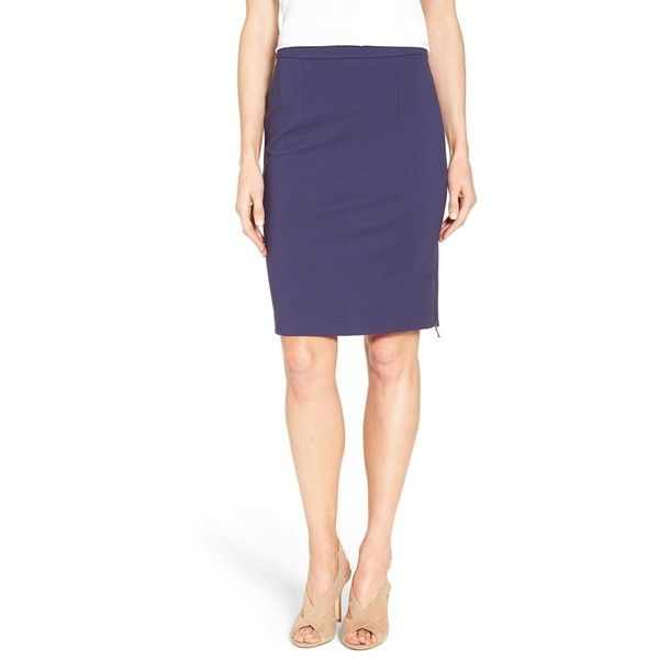 617fce409d25 Women s Halogen Side Zip Pencil Skirt ( 59) ❤ liked on Polyvore featuring  skirts