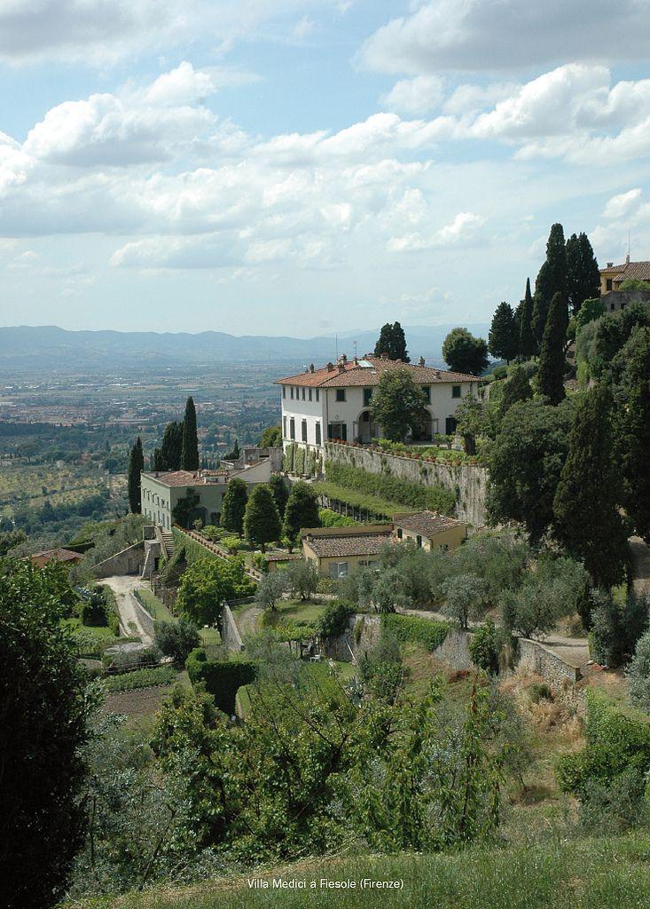 Villa Medici a Fiesole (Firenze) | Flickr - Photo Sharing!