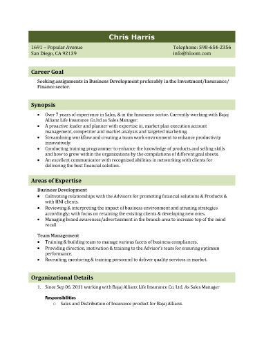 Recruiting Resume Sample Biodata Template 3  Resume Templates And Samples  Pinterest