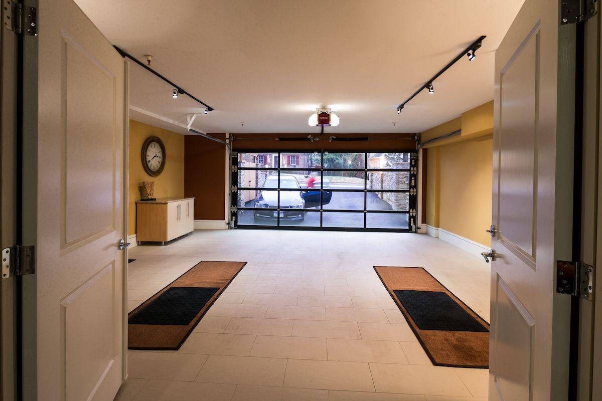 Mirrored Garage Door Inside View