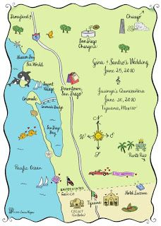 San Diego, CA/Tijuana, Mexico Map | To Whom it May Concern ...