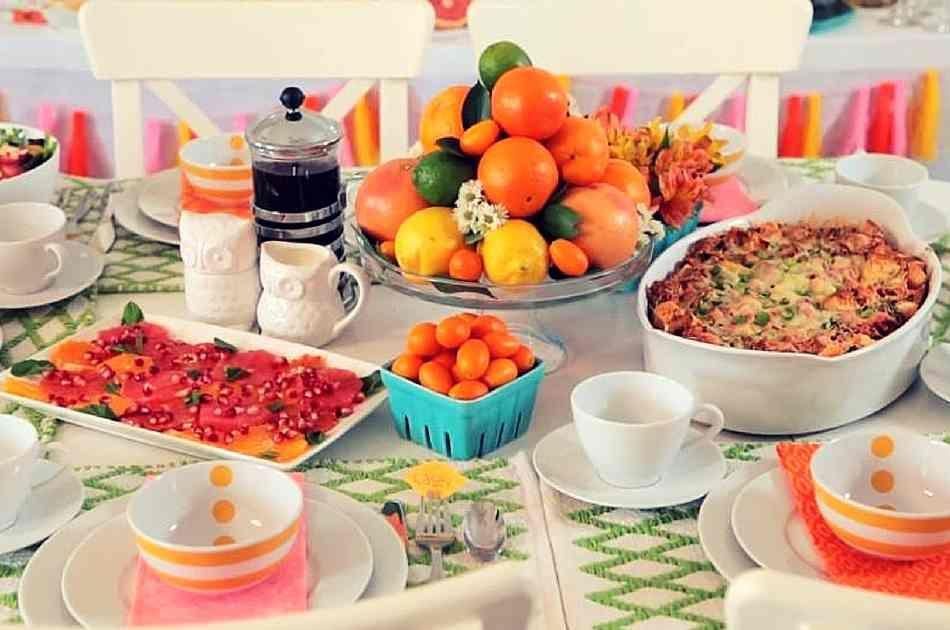Rock Your Kids' Sleepover Parties by Cooking Healthy Brunch Menus