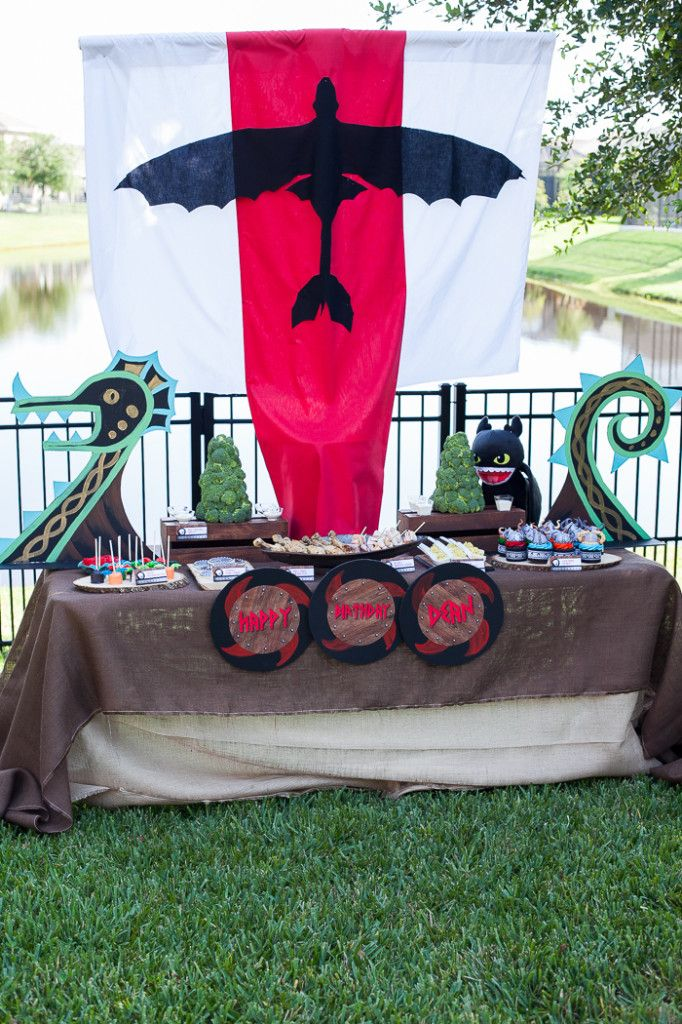 Party Reveal How To Train Your Dragon Birthday Httyd Dragon