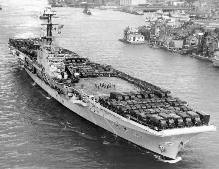 hms albion aircraft carrier