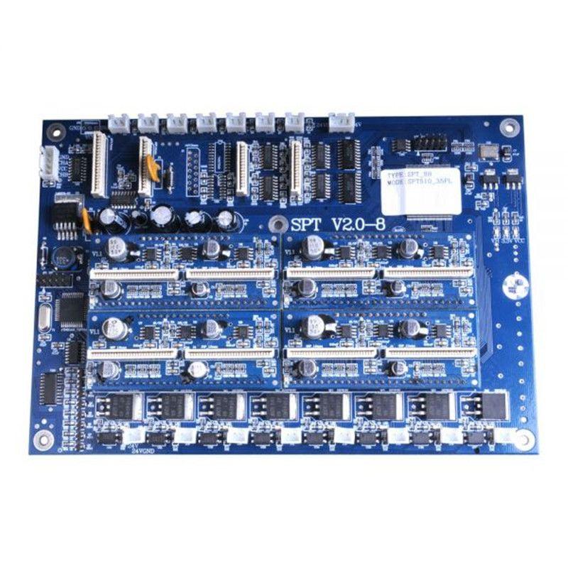 Spt 510 35pl Printhead Carriage Board For Crystaljet Cj 4000 Series Printer Computer Network Printer Electronics