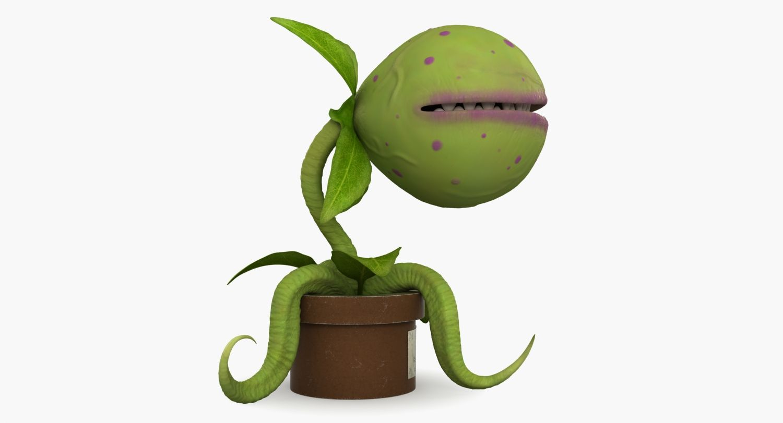 3d model #carnivorous #plant #meat #eater #amazon #monster #venus ...