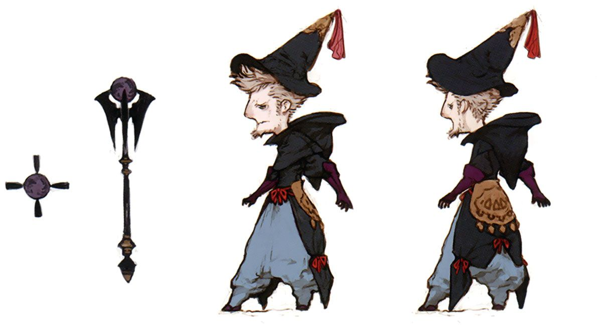 Ominas Crowe - Characters  Art - Bravely Default