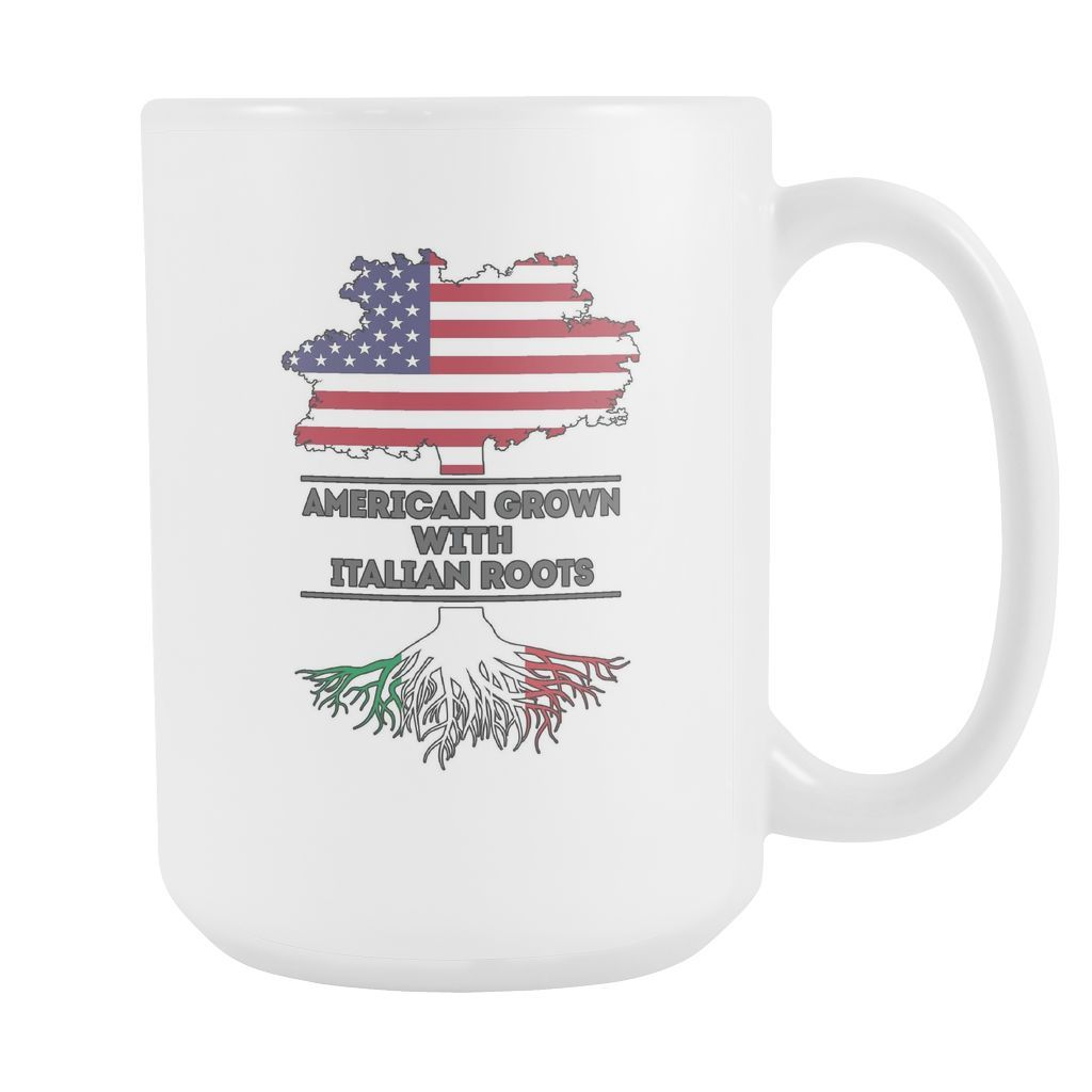 Italian mug - American grown with Italian roots