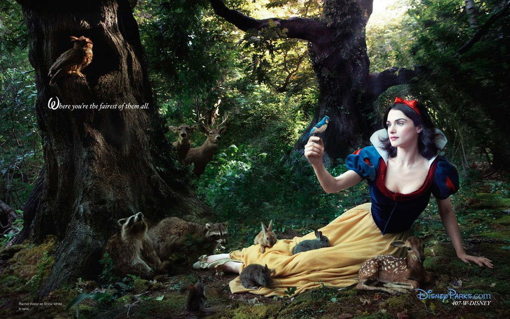 Thanks to Annie Leibovitz, a few willing stars, and some Disney magic, you can see your favorite characters come to life.