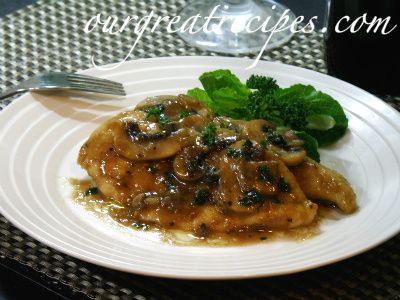 Chicken Marsala - Experience Great Fine Dining at Home Today!Our Great Recipes
