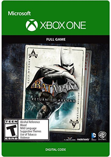 Batman Return To Arkham Xbox One Digital Code Batman Returns
