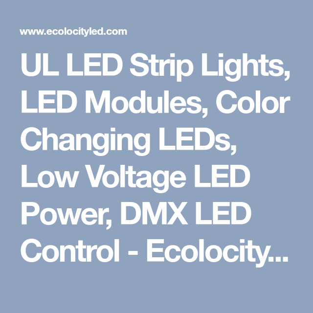 Ul led strip lights led modules color changing leds low voltage ul led strip lights led modules color changing leds low voltage led power dmx led control aloadofball Gallery