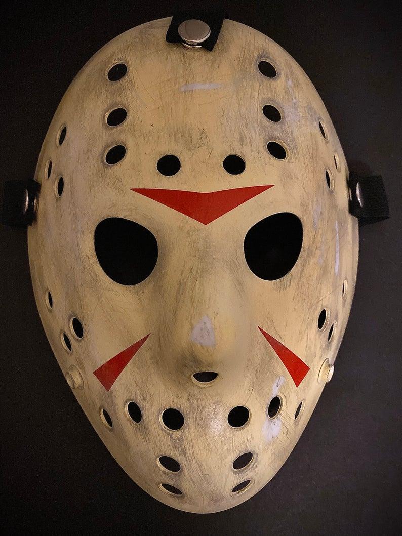 Jason Part 3 Hockey Mask 13x Studios Etsy Spooky Empire Hockey Mask Jason Mask