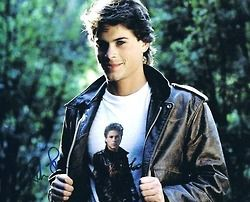 the outsiders | Tumblr, rob lowe in a rob lowe t-shirt, hehe, it