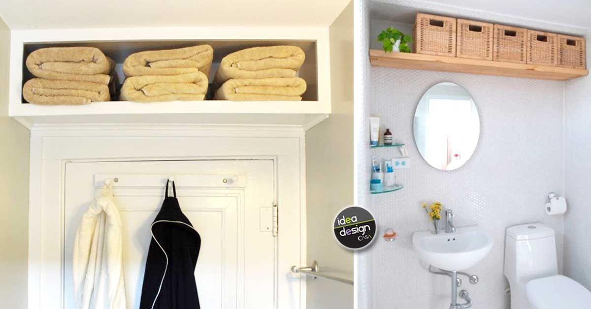 Idee Arredo Bagno Salvaspazio : Mensole salvaspazio in bagno ecco idee da cui trarre