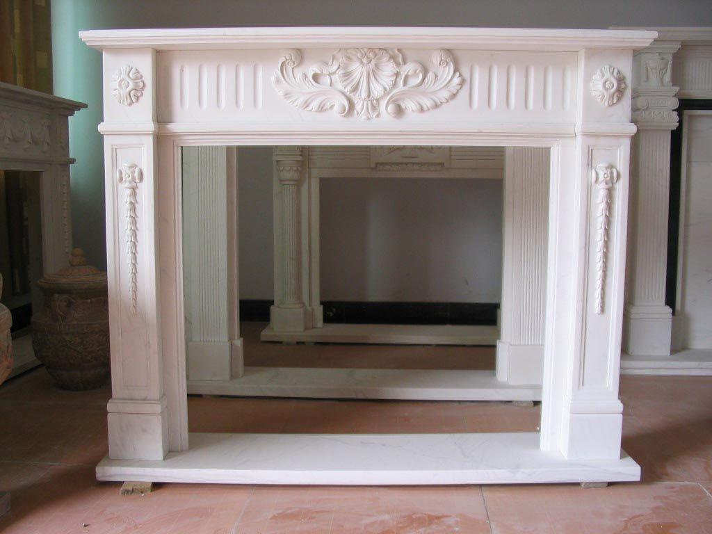 Fake Fireplace Mantel
