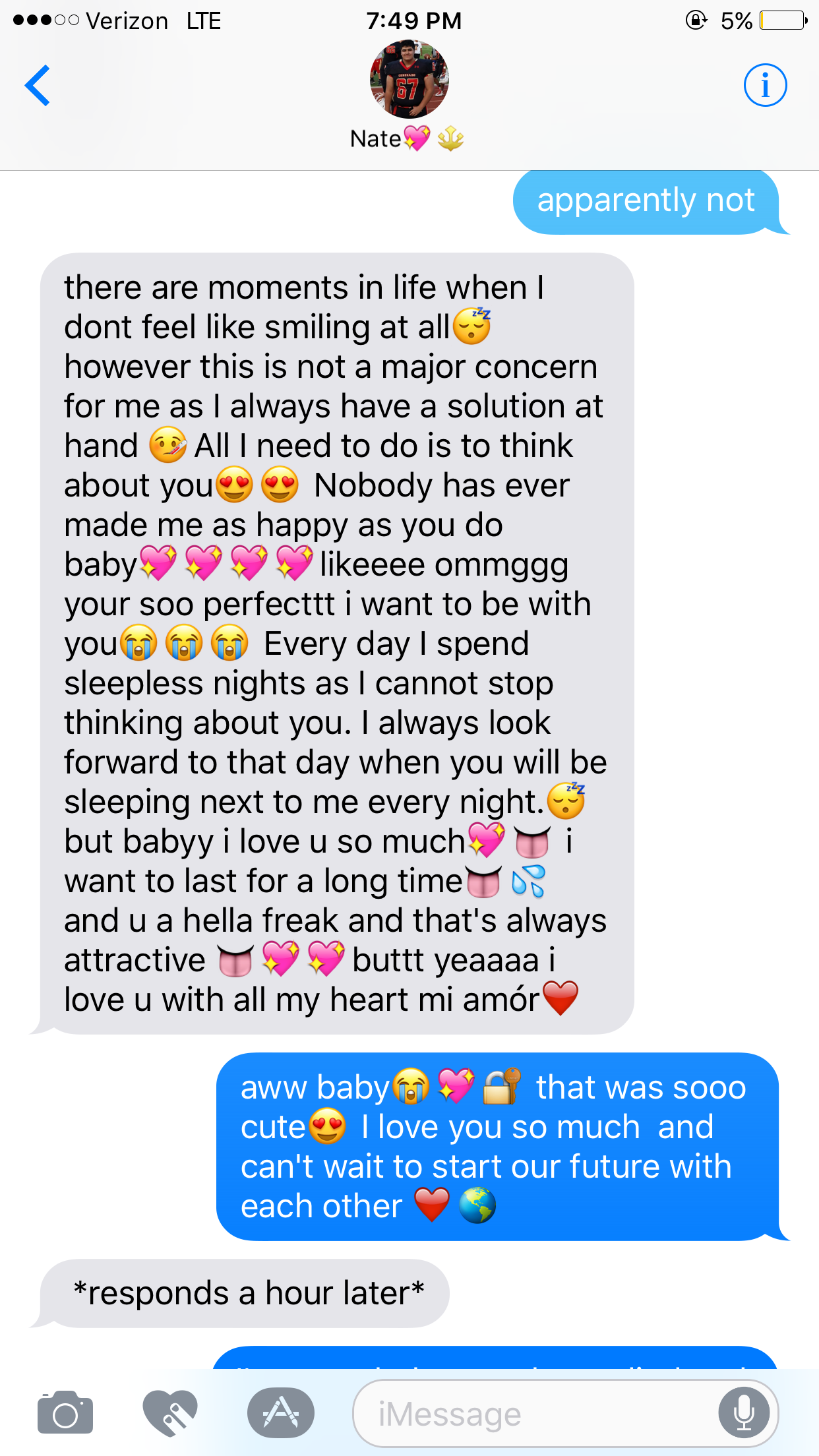 Cute paragraphs for a boyfriend