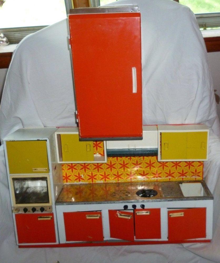 Asombroso 1960 S Muebles De Cocina De Metal Ilustración - Ideas Del ...