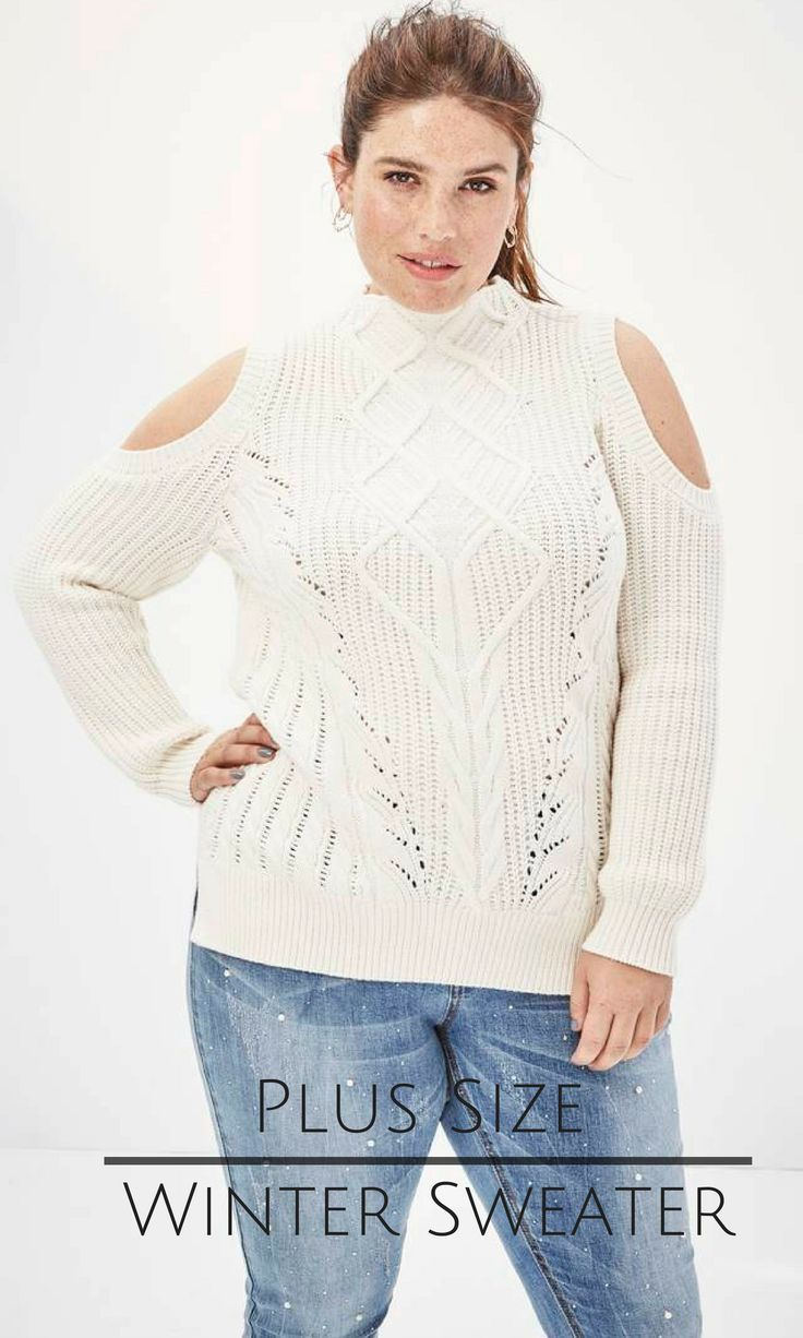 I Love A Cable Knit Sweater And The Open Shoulders Are Soooo Cute