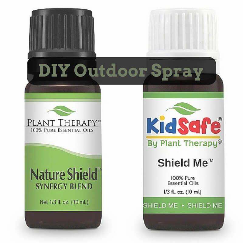 DIY Outdoor Spray Everyday Essentials Plant therapy