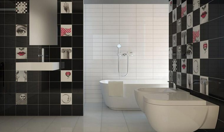 Fornasettiana bardelli bathroom bagno