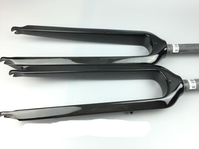"New 26//29/"" inch Mountain bike full carbon fibre bicycle disc brake hard fork MTB"