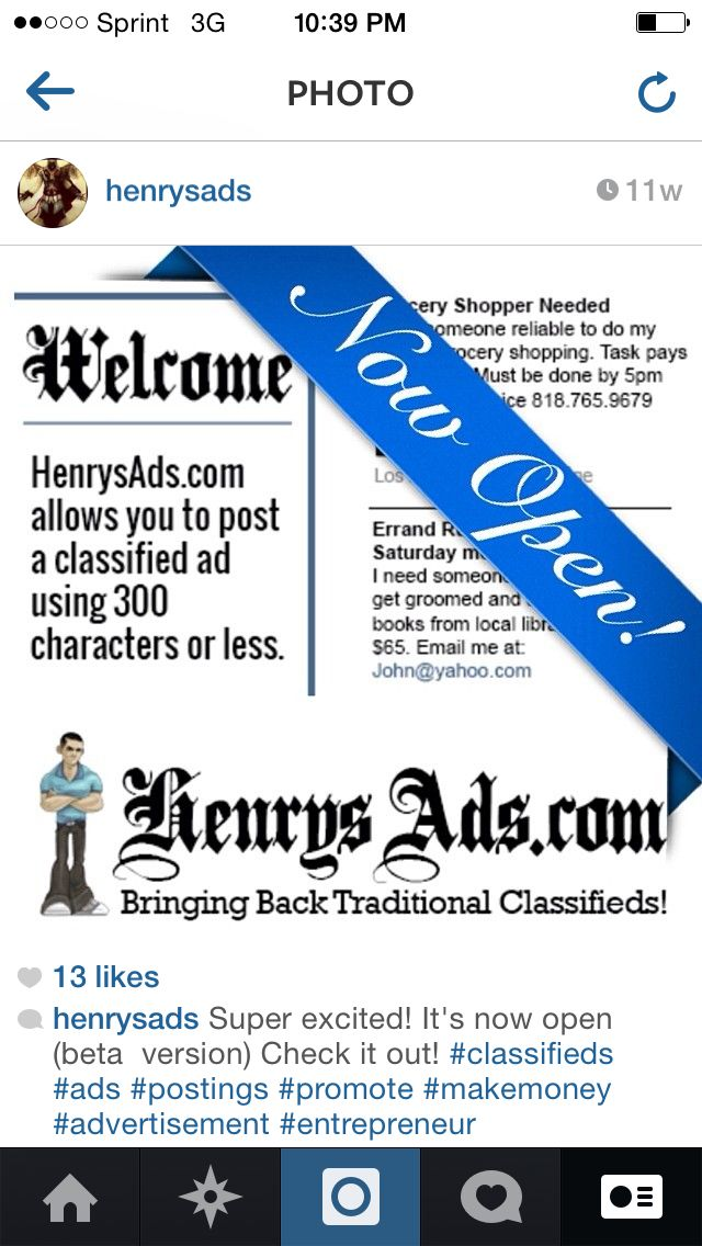Post Free Classified Ads On Yahoo
