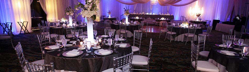 Modern Wedding Reception Crowne Plaza Tampa Westshore Hoteltampa