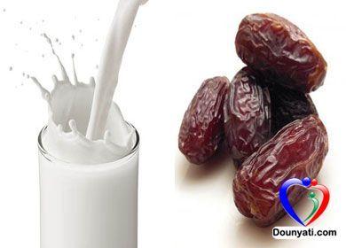 دنيتي فوائد الحليب و التمر في تخفيف الوزن Light Recipes Food Desserts