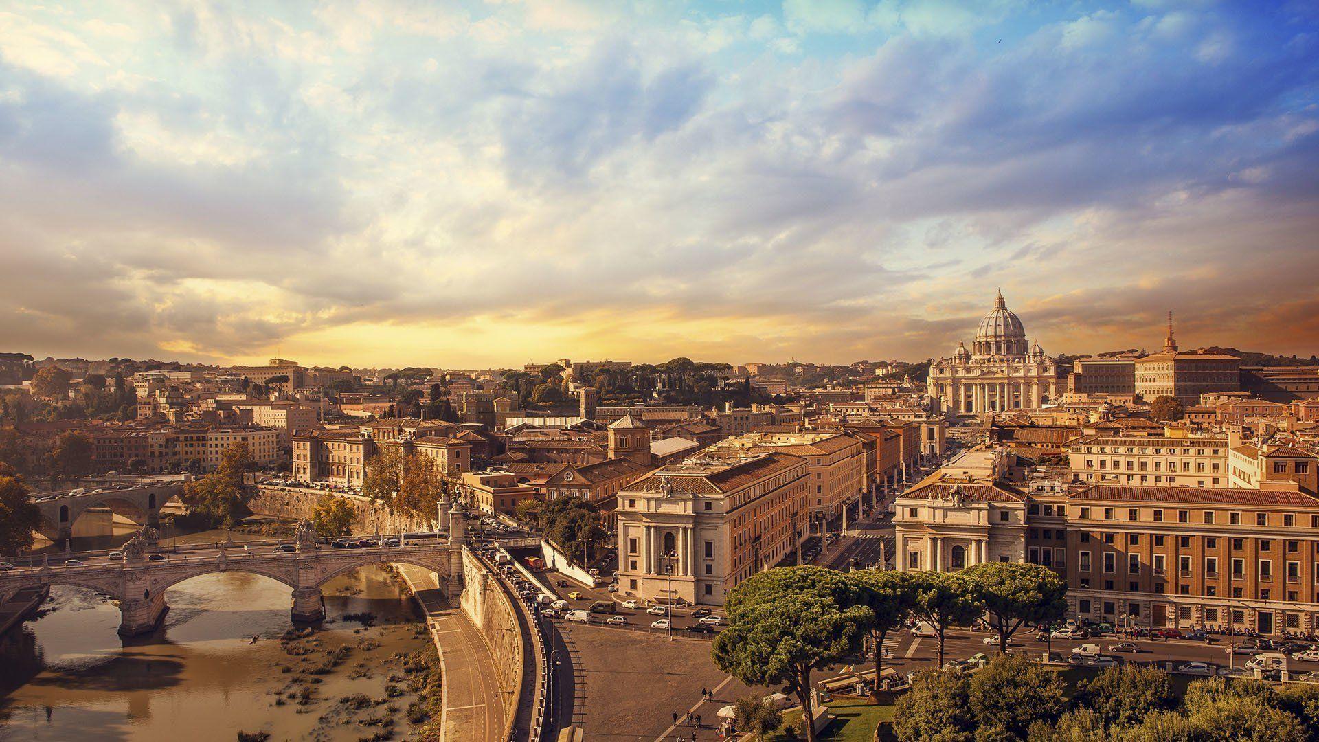 Сказочный Рим: панорама древнего города (50 фото) (с ...