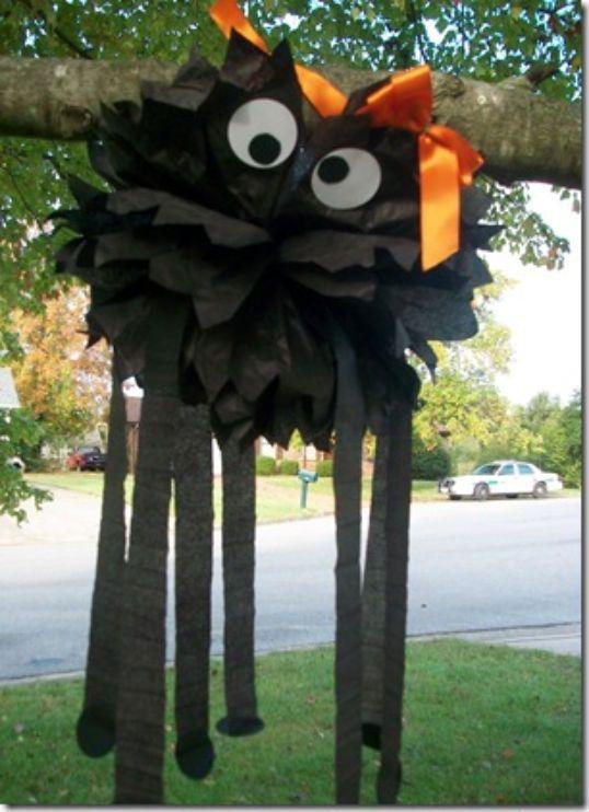 Cool Halloween Decoration - Spiderella Halloween Decor Pinterest - cool halloween decorations you can make