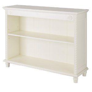 Short White Bookcase Small Bookcase Simply Shabby Chic Bookcase