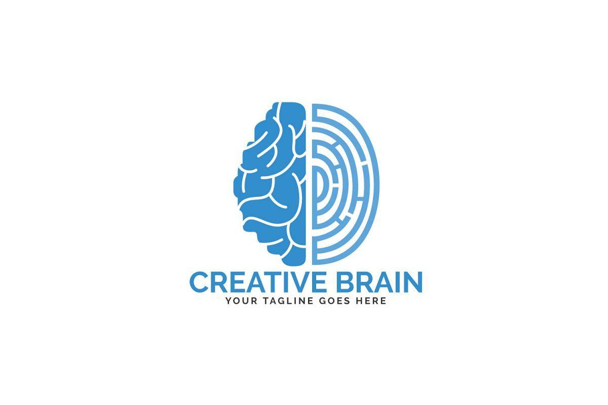 Brain And Fingerprint Logo Design Forensic Science Symbol Science Symbols Logo Design Brain Logo