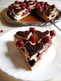 Csokis-meggyes túrótorta   Desserts